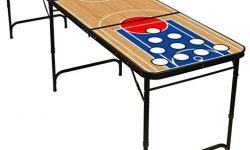 Red Cup Pong – 8′ Folding Beer Pong Table